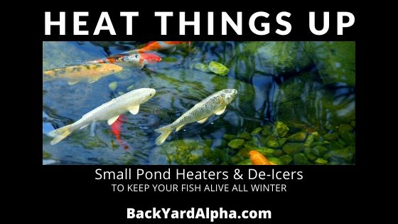 My Favorite Pond Heaters & De-Icers To Keep Your Small Pond Warm All Winter