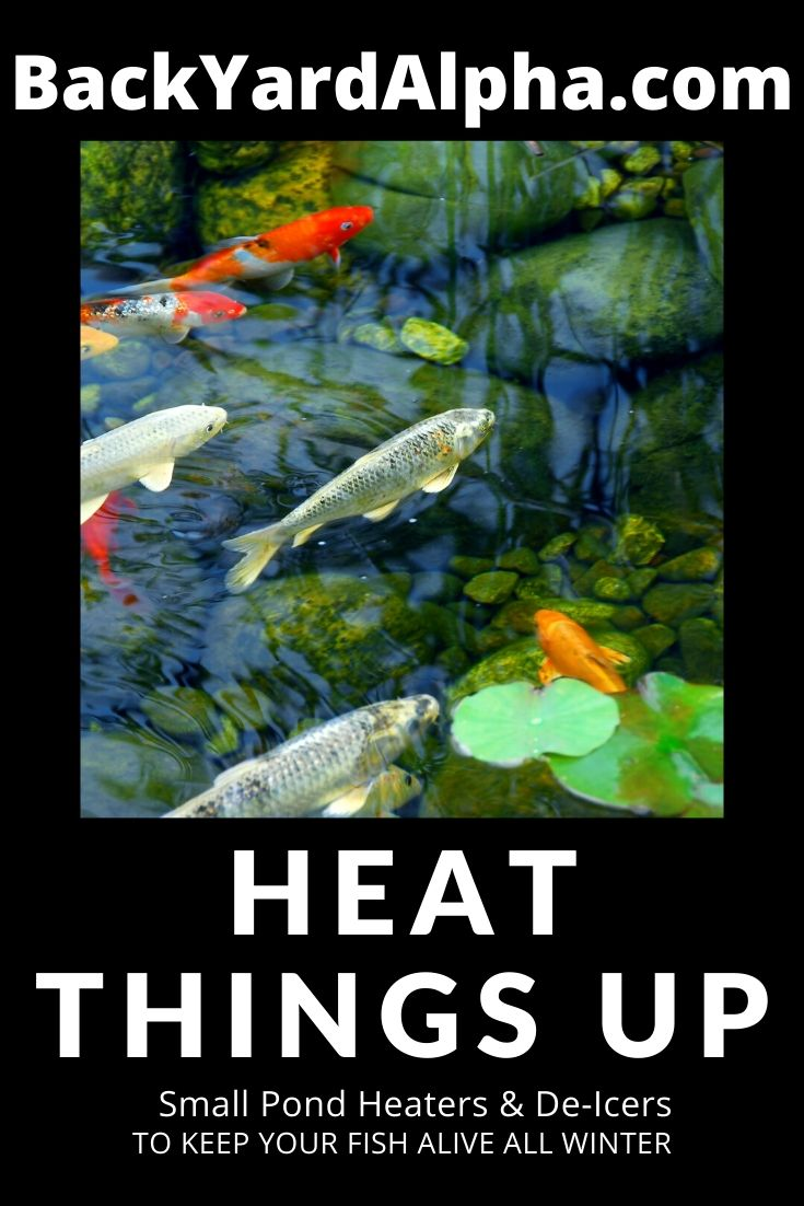 Pond Heaters & De-Icers For Small Ponds