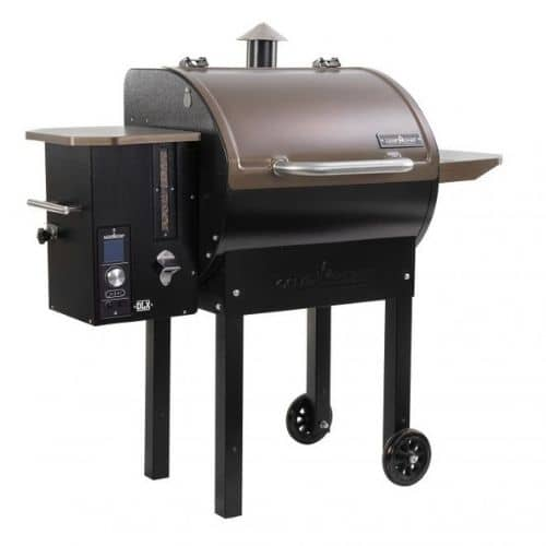 Camp Chef - SMOKEPRO DLX 24 PELLET GRILL - Bronze