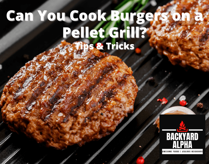 Can You Cook Burgers on a Pellet Grill-min