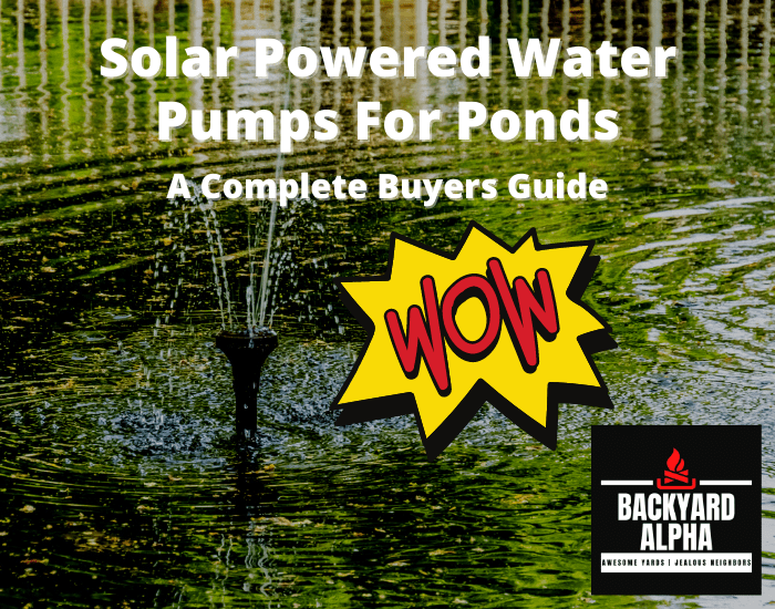 Solar Powered Water Pumps For Ponds